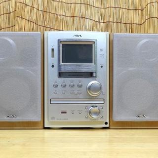 難あり AIWA カセット/CD/MDコンポ XR-MJ10 2...