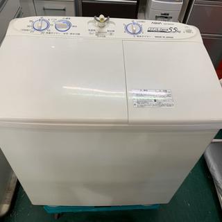 AQUA 2層式洗濯機 5.5kg AQW-N550 2015年...