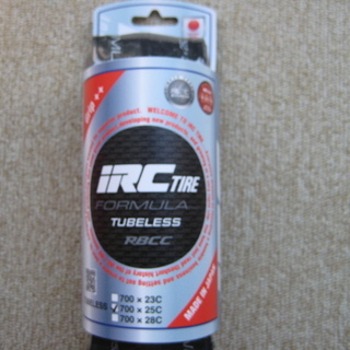 IRC TIRE FORMULA TUBELESS RBCC 7...