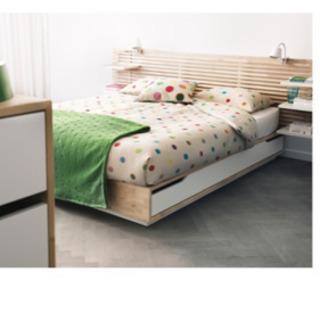 価格更新IKEAマンダール ベットフレーム ベットマットレス