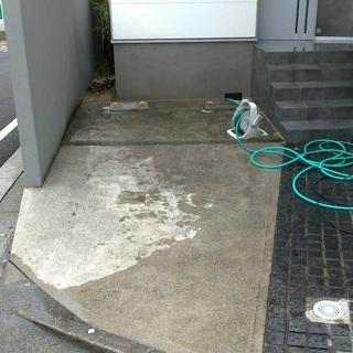 【高圧洗浄】駐車場・外壁汚れを落としませんか?