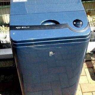 とにかく安いのが欲しい方!4.2kg洗濯機 SANYO A…