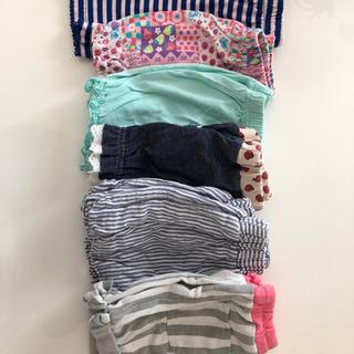 女の子 サイズ90  ショートパンツ 6枚セット