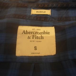 アバクロ 長袖シャツ Aaercrombie&Fitch
