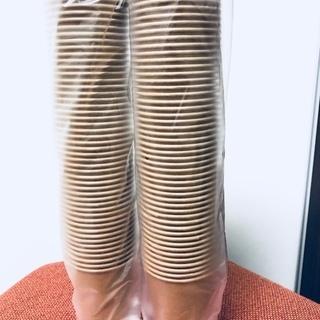 新品未開封☆耐熱頑丈紙コップ(9オンス)100個まとめ