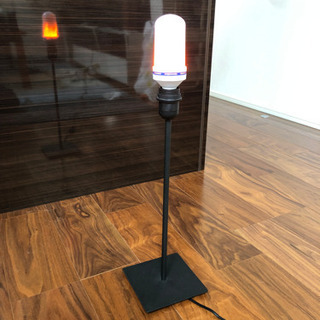 LED 電気スタンド 炎🔥