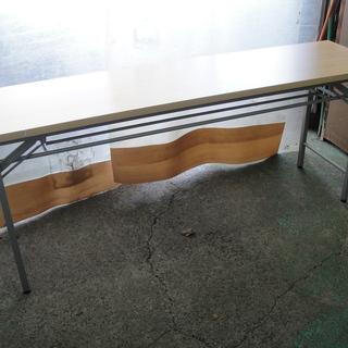 会議テーブル ミーティングテーブル 折りたたみテーブル 100-...