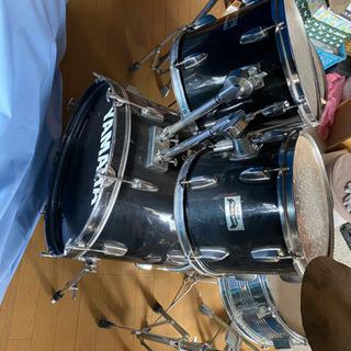 ハイハット変え有り ヤマハ中古ドラムセット - 旭川市