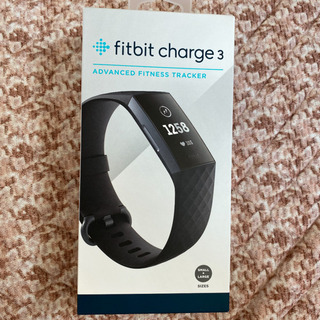fitbit charge3 新品未開封