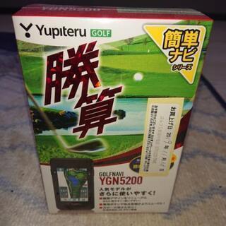ユピテル ゴルフナビ YGN5200 新品
