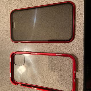 iPhone 11 強力マグネットガラスカバー