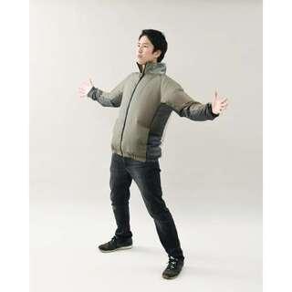 空調ウェア ファン付き バッテリー付き ジャケット ベージュ 山善 新品未開封 4 - 売ります・あげます