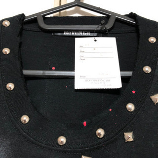 sex pot revenge Tシャツ 半袖 ダメージ加工 カッティング加工 チェーン 新品 - 大阪市
