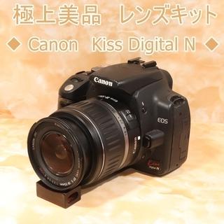 ★美品級&初心者おススメ★キヤノン kiss N レンズキット