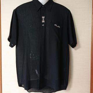 メンズシャツ黒