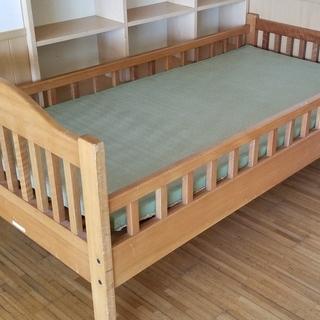 🔴畳ベッド オーダー品 無垢材頑丈