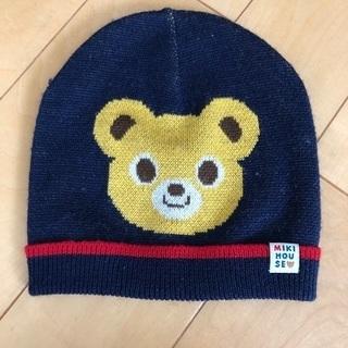 ミキハウス 冬用の帽子