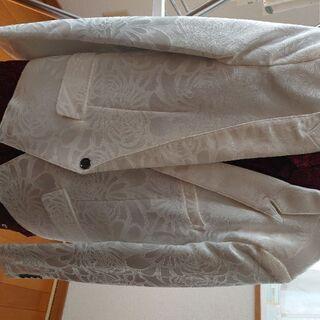 ホストスーツ ジャケットお兄系 シャツ赤2枚白1枚付き