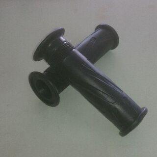 新品グリップ 115mm 非貫通 ブラック