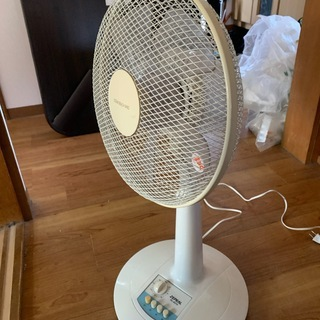 扇風機使用感あり
