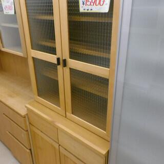 福岡 リサイクルショップ 2面食器棚 カップボード 北欧家具 北...