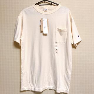 【新品未使用品】チャンピオン ポケ付Tシャツ/M