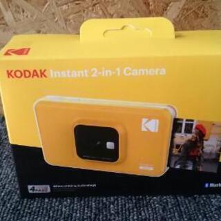 【値下げしました】未開封品 KODAK カメラ機能付きインスタン...