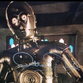 ★スターウォーズ(C-3PO/アンソニー・ダニエルズ)サイ…