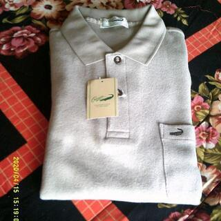 クロコのポロシャツ(新品)  メンズ LL
