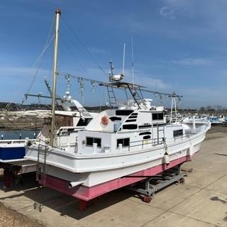 地場造船45feet遊漁船 − 福井県