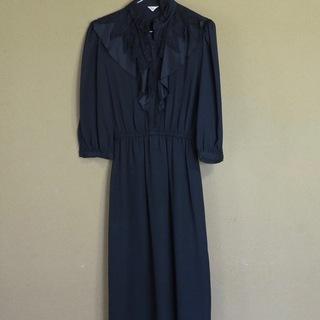 黒のドレス(スーパーエレガント)(古着)