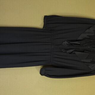 黒のドレス(スーパーエレガント)(古着) - 服/ファッション