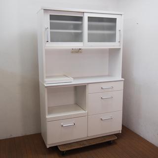 浅川木工 食器棚 カップボード 幅120 奥行45 高さ185c...