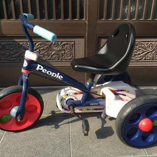 チェーンペダルの三輪車