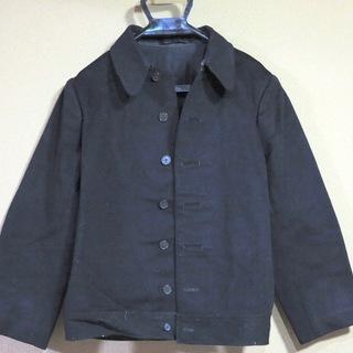 黒のジャケット(古着)の画像