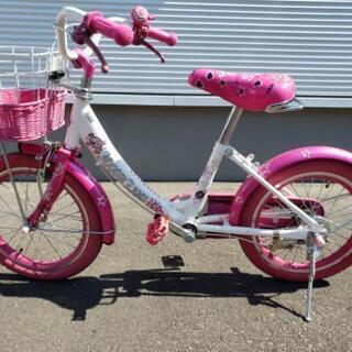 16インチ 子供自転車ピンク
