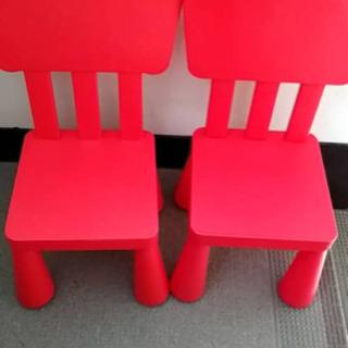 IタイトルIKEAマンムットテーブル椅子