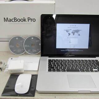 美品!MacBook Pro Mid2010 15インチ  Co...