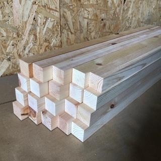 北欧パイン集成材 端材 約30角×長600 20本