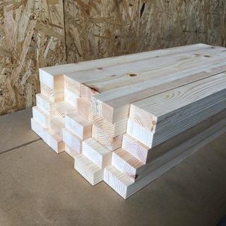 北欧パイン集成材端材 25×幅約50×長さ約600mm 25本