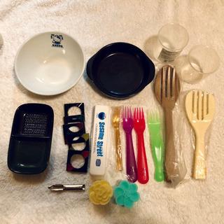 食器いろいろ(皿・フォーク・箸置き など)