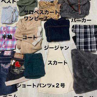 女児服 まとめて300円
