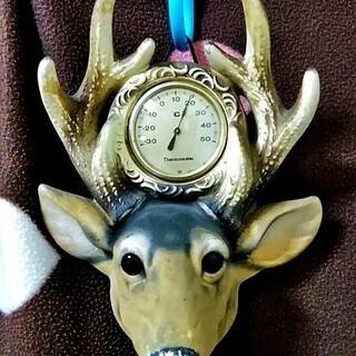 ★★USED・アンティーク&レトロ品!!鹿のはく製っぽいデザイン...