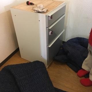 松田家具 食器棚 スチーム対応天板 定価12万円 - 売ります・あげます