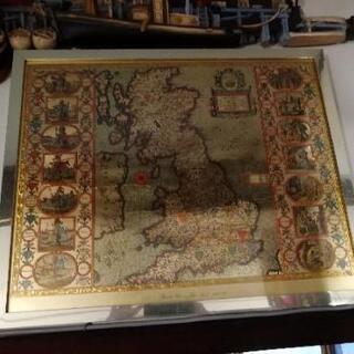 イギリス アンティーク 地図