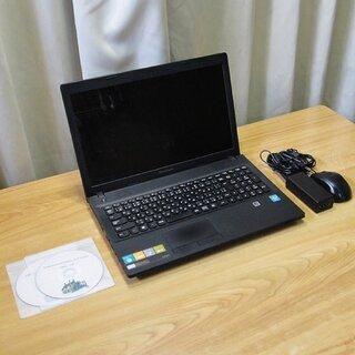 ご購入頂きましたす美品・高速!Lenovo G500 Win10...