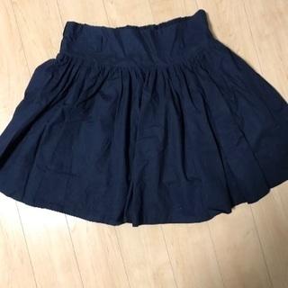 レトロガール ネイビースカート