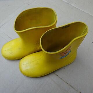 長靴 黄色 180