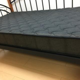 【急募】アイアン素材 ニトリ ベッド - 家具
