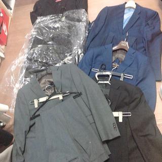 メンズスーツ5セット+紺ジャケット1まとめて3000円